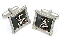 The Laughing Cowvalier Cufflinks