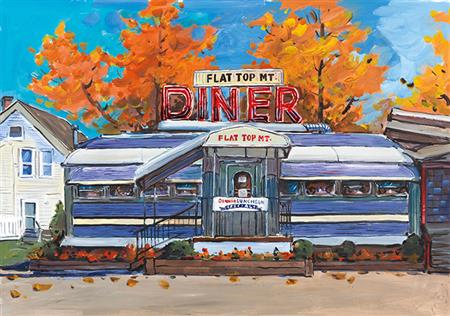 Flat Top Mt. Diner, Tennessee