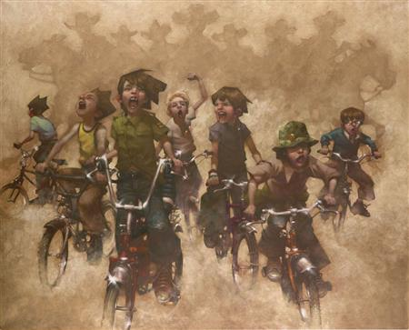 Yeehah! The Return of The Magnificent Seven - Giclee