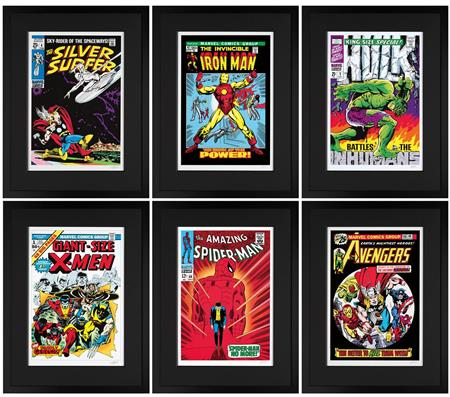 Marvel Superheroes - Collectors Portfolio of 6 - 2013